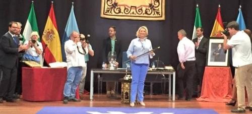 Trinidad Herrera, investida alcaldesa de Almuñécar