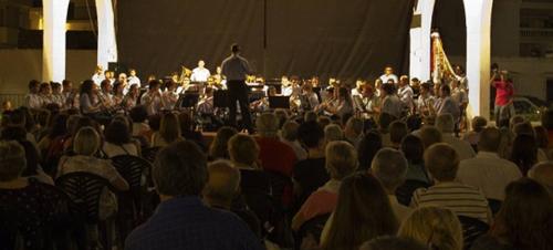 Concierto de verano de la BMMA este viernes en La Herradura