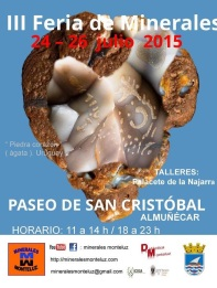 III Feria de los Minerales, este fin de semana en Almuñécar
