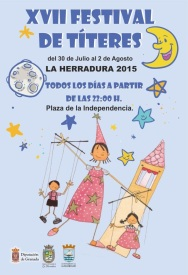 La Herradura celebrará su XVII Festival de Títeres del 30 de julio al 2 de agosto