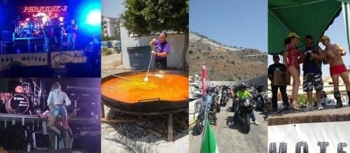700 inscritos y un millar de participantes en la II Concentración Motera de La Herradura