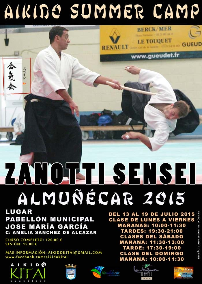 Aikido Summer Camp Almuñécar 2015