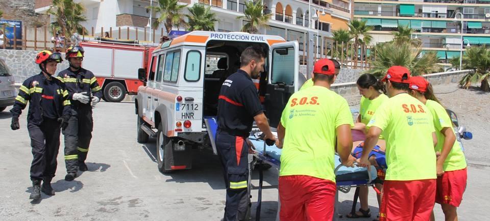 BOMBEROS ACUDIERON EN AYUDA A LOS SOCORRISTAS 15 2