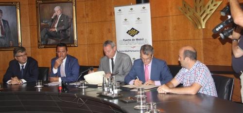 Caja Rural de Granada se convierte en el principal proveedor financiero del puerto de Motril