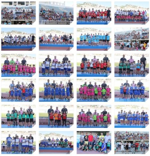 Clausuradas las Escuelas Deportivas de Almuñécar con la entrega de trofeos