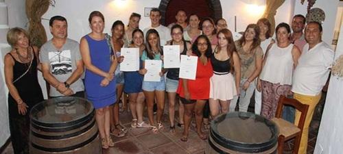Clausurado un curso de cocina que ha formado a 15 Jóvenes sexitanos gracias al programa GranadaEmleo II