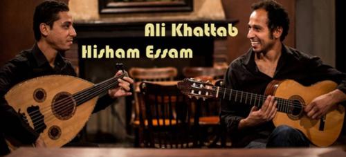 El dúo Ali Khattab y Hesham Essam actúan este domingo en Almuñécar