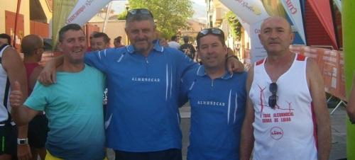 El Club Atletismo Almuñécar en la XXVII Prueba