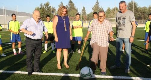 Inaugurado el campo de fútbol del Varadero, en Motril