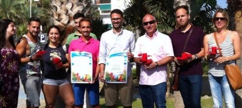 Juventudes Socialistas de Andalucía presenta en Almuñécar la campaña 'Paraíso Andalucía'
