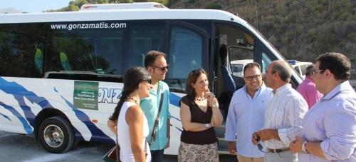 La Junta pone en marcha la lanzadera a la playa de Cantarriján de Almuñécar