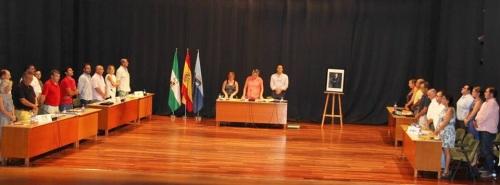 Declaración institucional y minuto de silencio por la repentina muerte del jefe de Rentas del Ayto. de Almuñécar