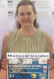 PRESENTACION TORNEO PADEL A  BENEFICIO MANOS UNIDAS ALMUÑECAR 2