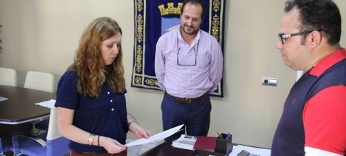 Toma de posesión de María Dolores Alodía Roldán López del Hierro como Interventora en el Ayuntamiento de Almuñécar
