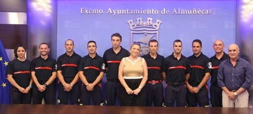 Toman posesión ocho nuevos funcionarios bomberos-conductores en Almuñécar