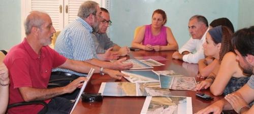 Ayuntamiento y Subdelegación aseguran que las obras del Paseo de Salobreña se han llevado a cabo con todas las garantías de seguridad