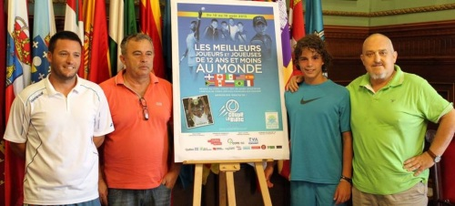 El motrileño Alejandro Correa Linares representará a España en la 'IX Copa Le Blanc' de Tenis