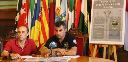 El Polideportivo Municipal acoge este sábado el 'II Open de TPV en Espeleología'