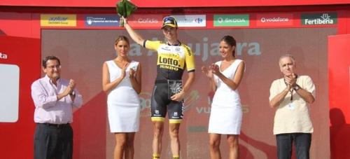 Emoción y ciclismo de élite en la etapa más granadina de la Vuelta Ciclista a España 2015