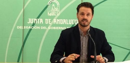 Juan José Martín Arcos, delegado territorial de Economía, Innovación, Ciencia y Empleo de la Junta de Andalucía en Granada