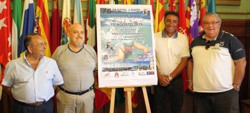 La 76ª edición de la 'Travesía a Nado' del Puerto culmina la programación deportiva de las Fiestas de Motril