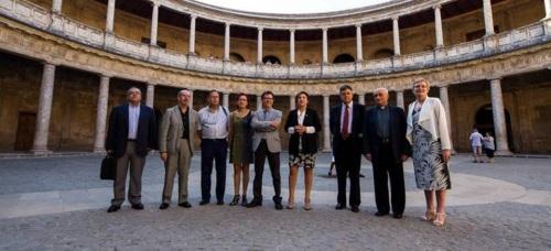 La Alhambra y Granada itinerarios emblemáticos del Renacimiento europeo
