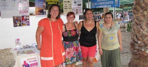 La Asociación de Comerciantes de La Herradura hace una valoración positiva de la pasada feria del comercio local.