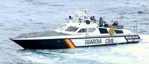 Patrullera de la Guardia Civil Río de Aragón