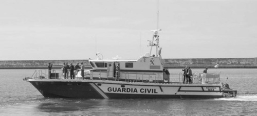 Patrullera Genil de la Guardia Civil