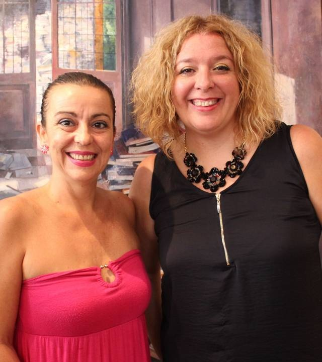 Alicia Crespo (izq) y Flor Almón