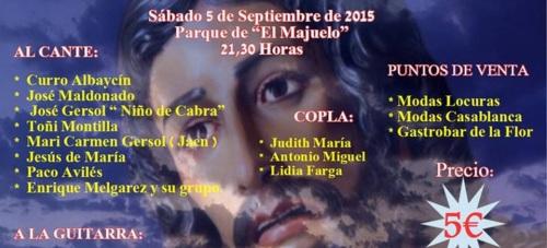 Almuñécar celebrará este próximo sábado VI Festival Flamenco Cante al Moreno