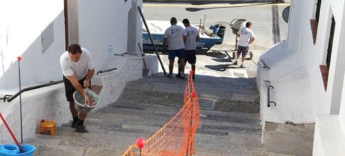 Comienzan las obras de mejora en los accesos al barrio de Los Marinos
