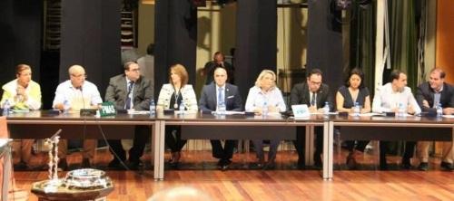 Concejales del equipo de Gobierno en el Ayuntamiento de Almuñécar