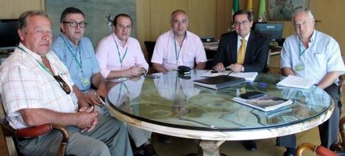 Diputación promoverá una declaración institucional de apoyo a los regantes de Río Verde
