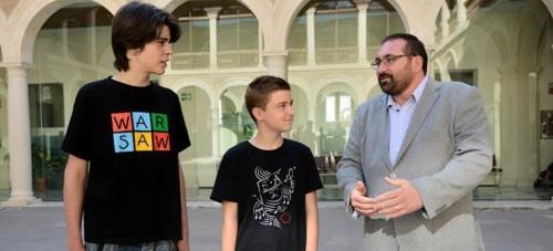 Dos alumnos granadinos, Alejandro Moreno y Pedro Saavedra, vencedores en la XXVI Olimpiada Matemática Nacional