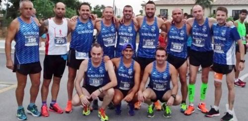 El Atletismo Sexitano en La Carrera Nocturna Robinson Playa Granada