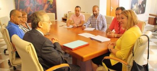 El cónsul de Marruecos visita el Ayuntamiento de Motril