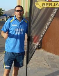 Tomás Bustos, del Club Atletismo Almuñécar, en la IX Carrera Ntra. Sra. de Gádor