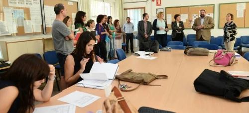 El inicio de curso se completa con la vuelta a las aulas de 109 mil alumnos de Secundaria, Bachillerato, FP, Educación Permanente y Enseñanzas de Régimen Especial