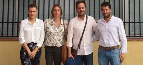 El PSOE se reúne con el presidente de la ELA de Torrenueva para conocer su funcionamiento