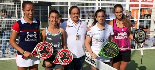 final campeonato españa cadete femenino padel 2015