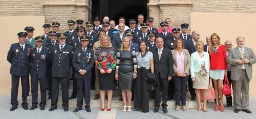 Foto grupo Actos del día del Patrón de la Policía Local