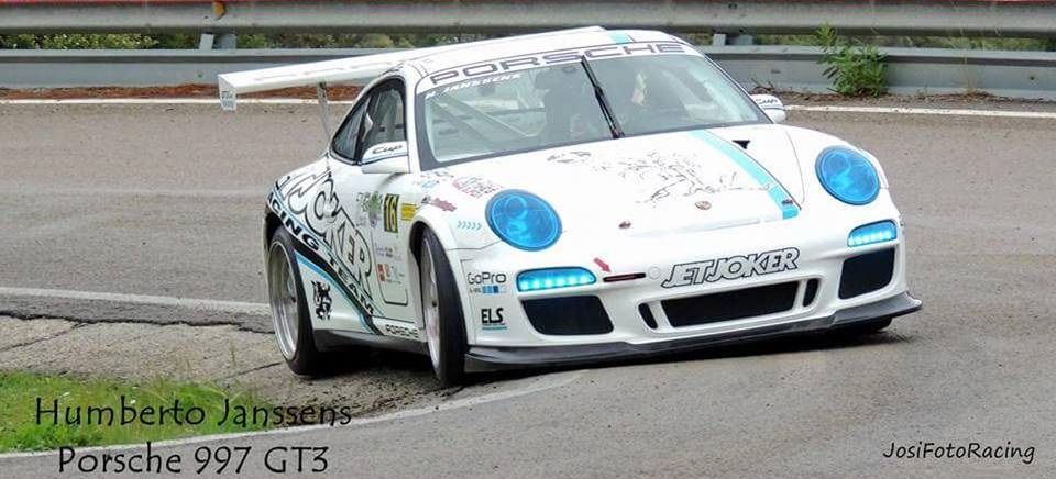 Humberto Janssens (Porsche 997 GT3 Cup), 'Campeón de España de Montaña en Categoría III'
