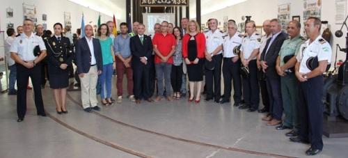 Inaugurada la exposición que conmemora los más de 70 años de servicio de la Policía Nacional en Motril