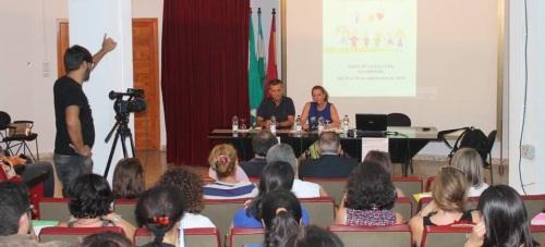 Inaugurado el XVII Encuentro de Educación Infantil con un experto en la enseñanza de las Matemáticas