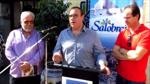 Rafael Lamelas, Manuel Guirado y Francisco Prados