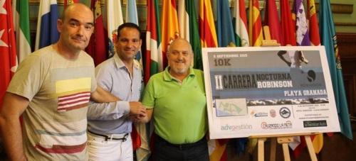 La 'II Carrera Nocturna Robinson' se celebra este sábado en Playa Granada