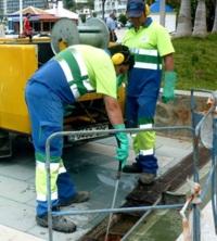 La empresa 'Aguas y Servicios' realiza 26.608 limpiezas de imbornales antes de otoño2