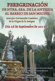 La Patrona de Almuñécar Virgen de la Antigua peregrina este sábado al Barrio de San Miguel