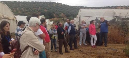Los participantes del Congreso Nacional de Suelos 2015 visitan este viernes la finca municipal El Zahorí